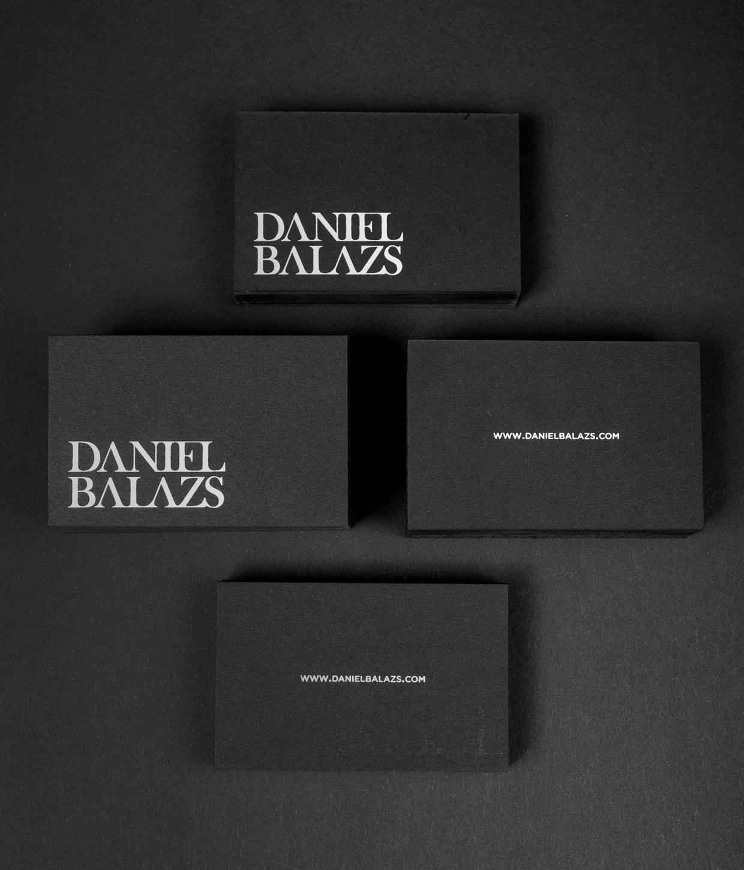 Daniel Balazs - ekskluzywne wizytowki