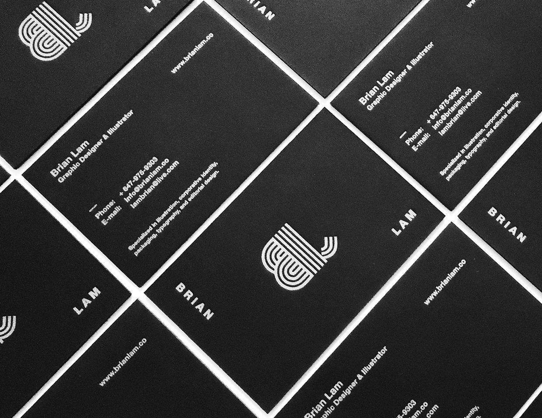Brian Lam-Wizytowki-letterpress-bialy-nadruk